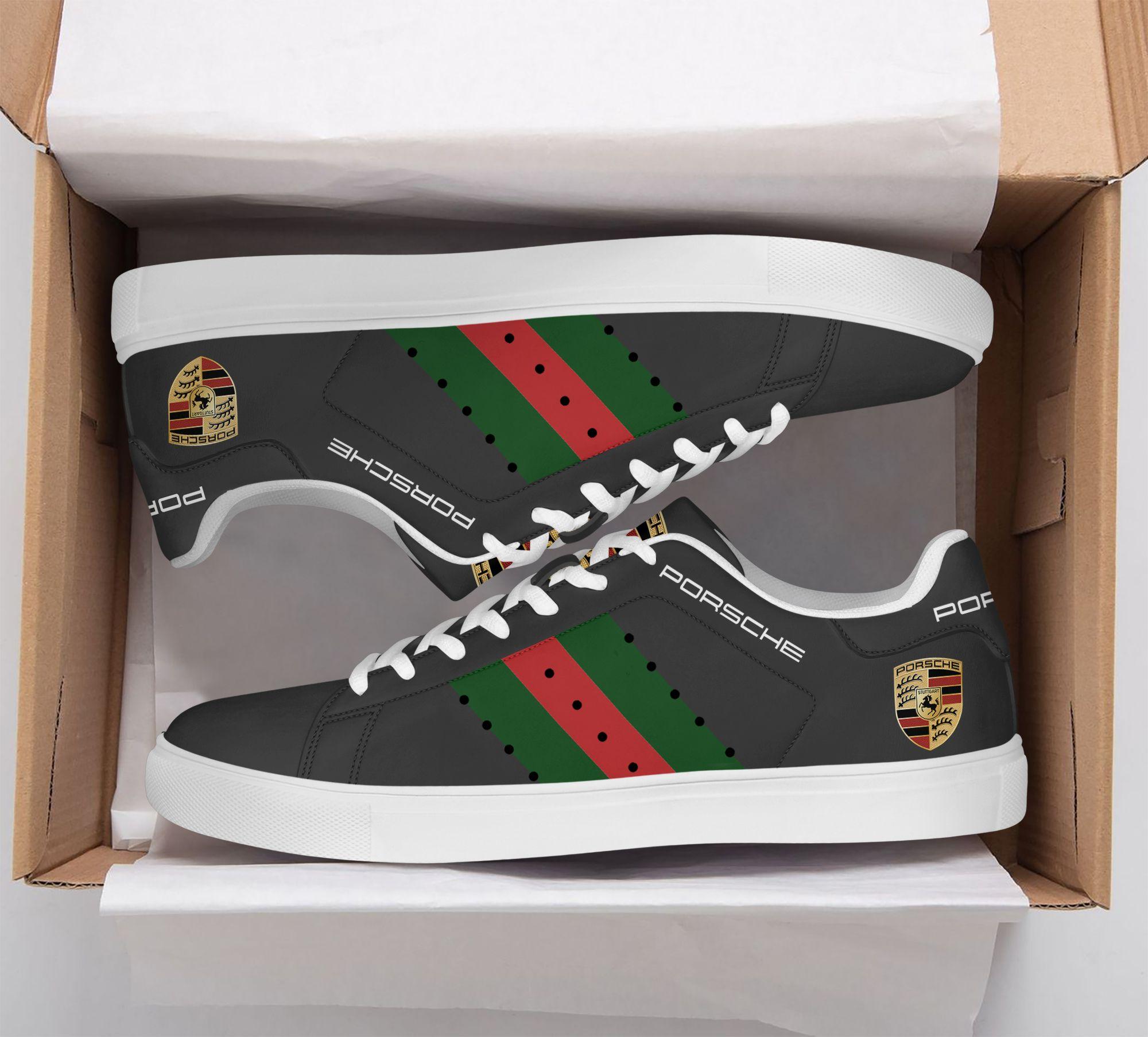 Porsche Dark grey Stan Smith Shoes