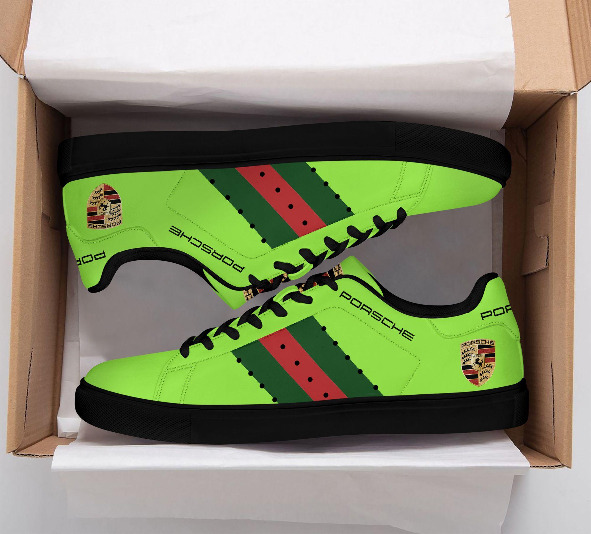 Porsche Neon green Stan Smith Shoes
