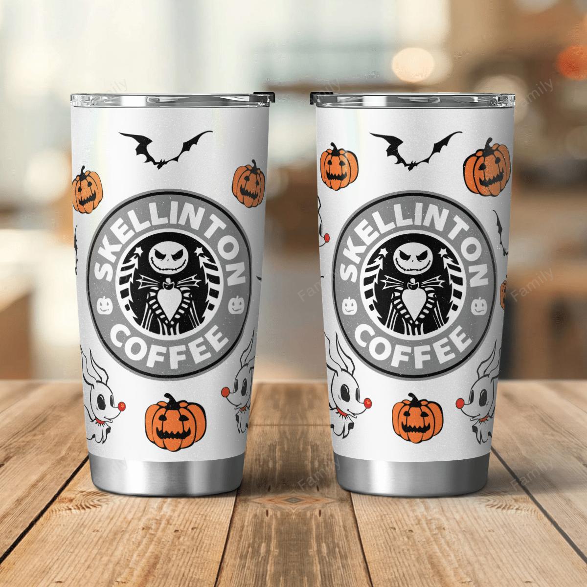 Halloween Pumpkin Nightmare Tumbler