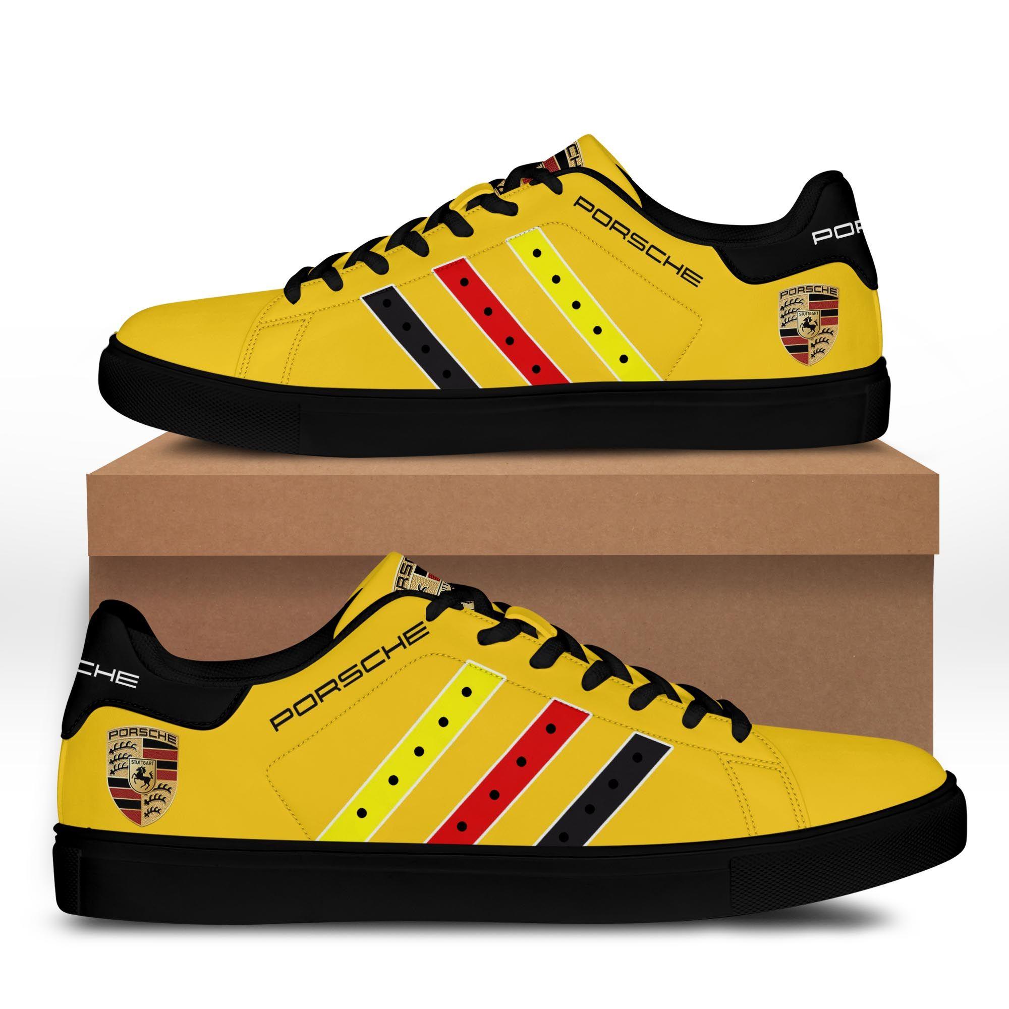 Porsche Yellow Gold Stan Smith Shoes