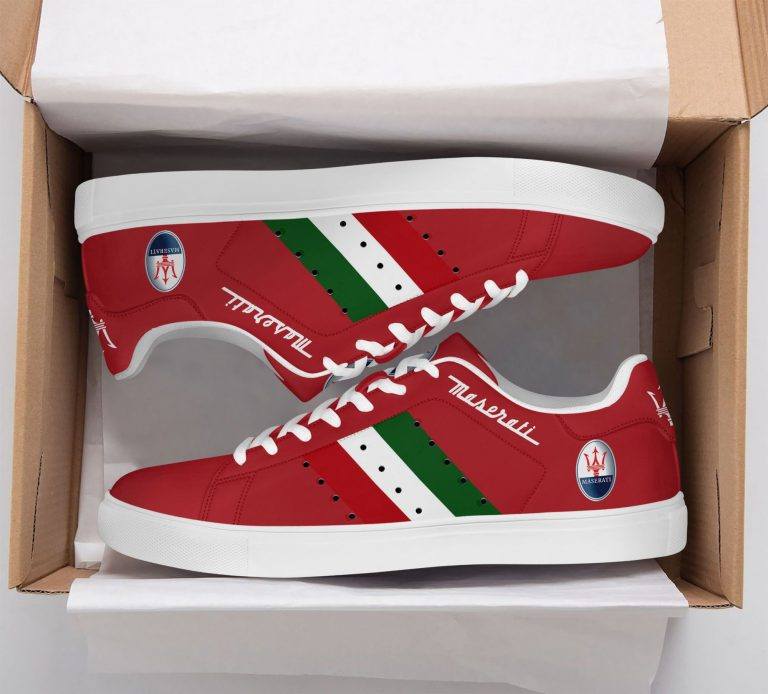 Maserati Light Red Stan Smith Shoes