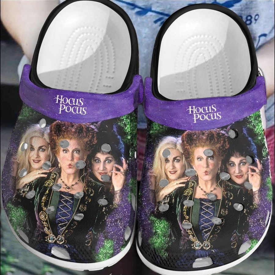 Halloween Hocus Pocus witches crocs crocband clogs