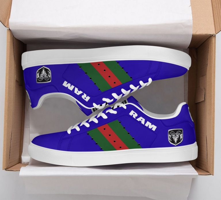 Ram Truck Green Red Line Blue Stan Smith Shoes