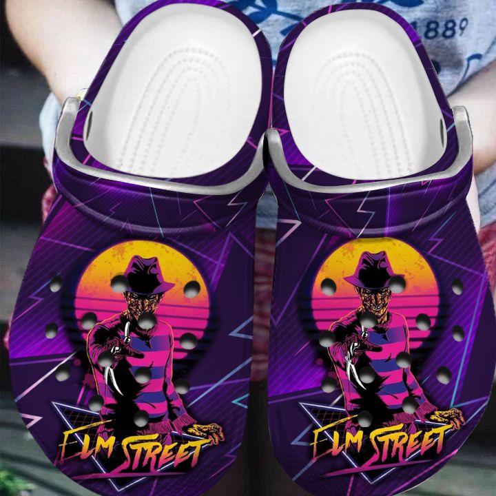 Freddy Krueger FLM Street Halloween crocs crocband clogs