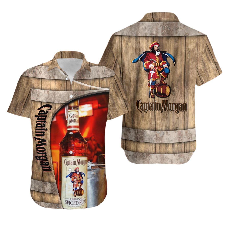 Captain Morgan original spiced rum Hawaiian Shirt