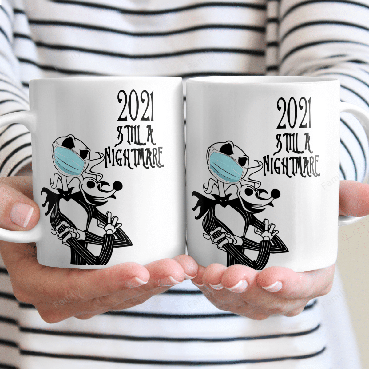 2021 Still A Nightmare Jack Skelliton facemask Mug