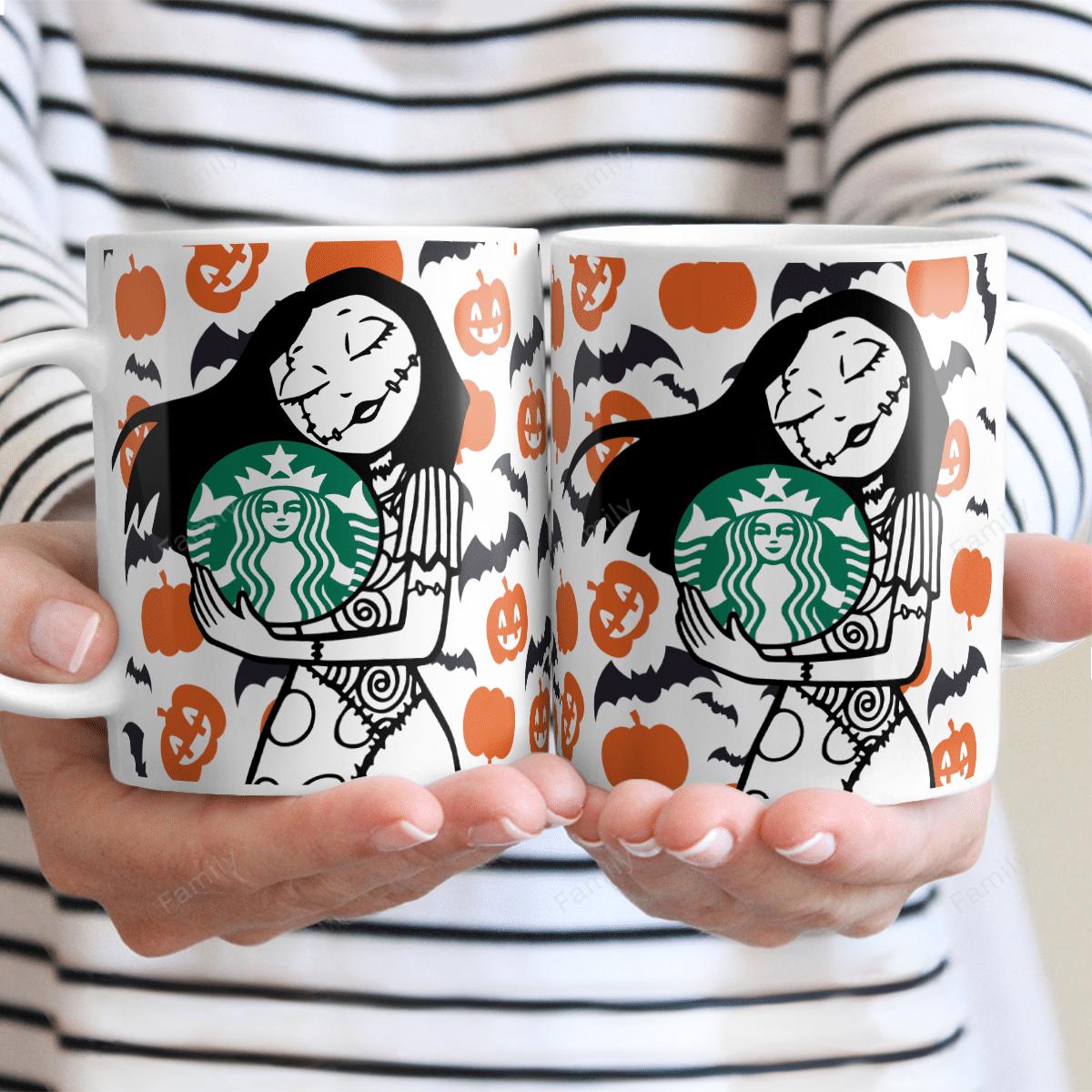 Sally Nightmare Pumpkin Starbucks Mug