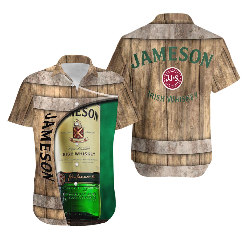 John Jameson and son whiskey Hawaiian Shirt