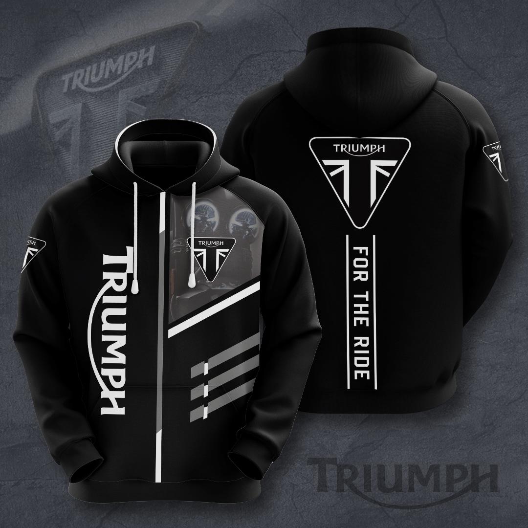 Triumph motor For the Ride 3D T-Shirt hoodie sweatshirt