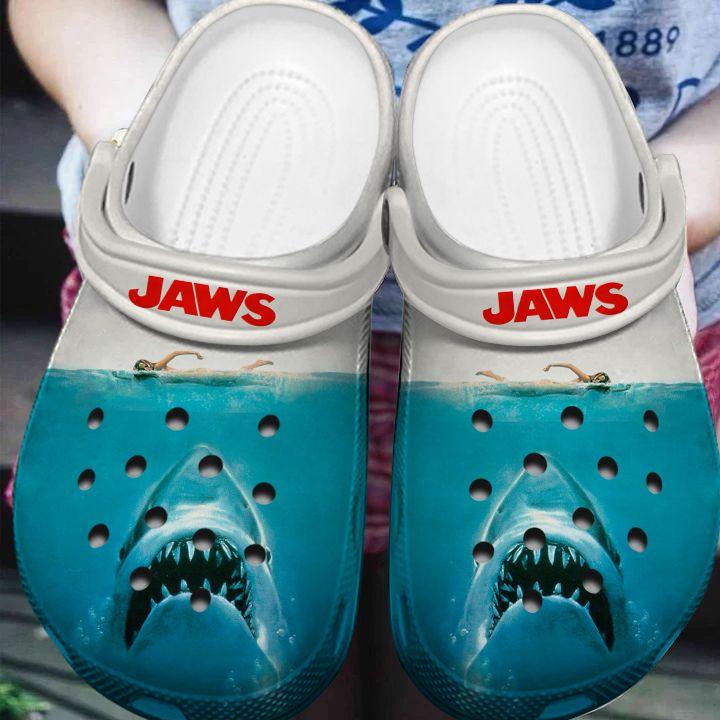 Shark Horror JAWS movie Crocs Crocband Clog Shoes