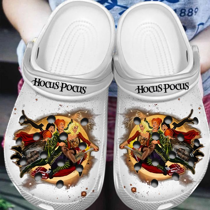 Hocus Pocus Witches Halloween Horror Shoes