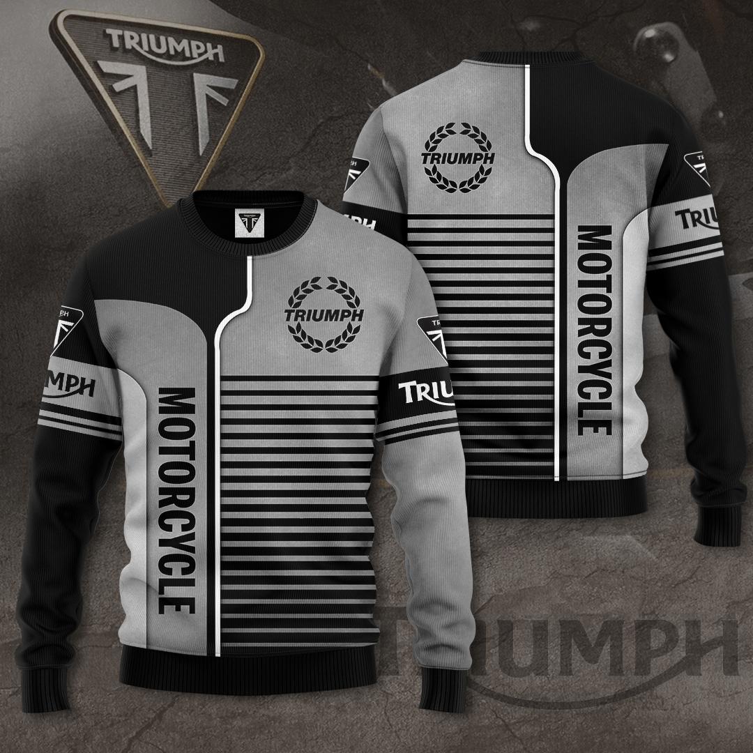 Triumph motorcycles 3D T-Shirt hoodie sweatshirt