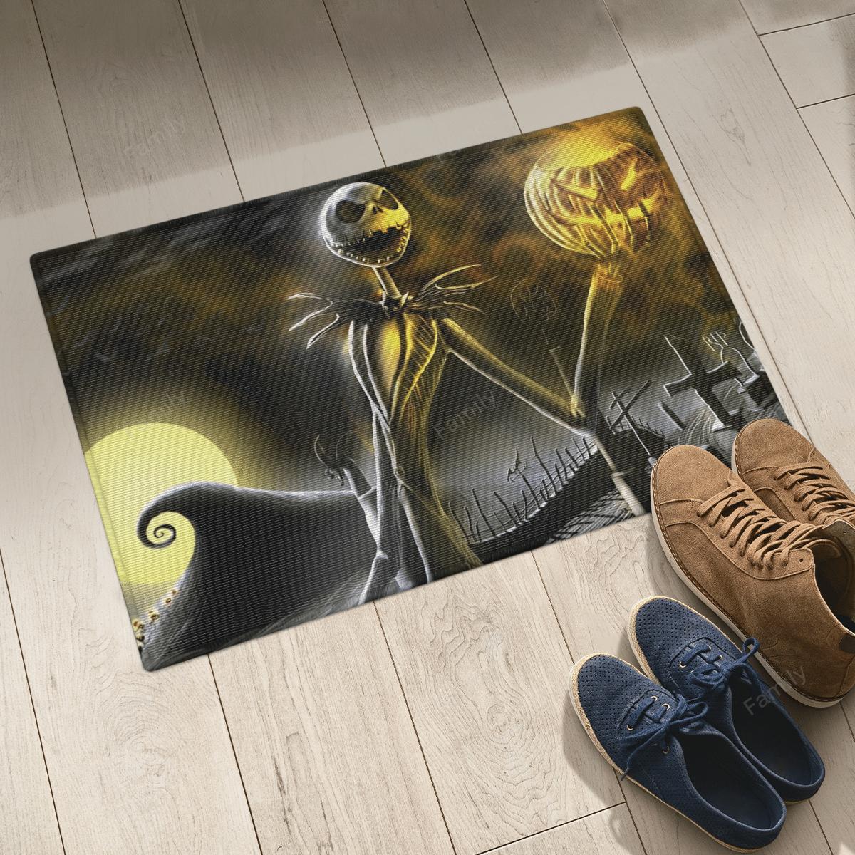 The Nightmare Jack Skellington Halloween Door Mat