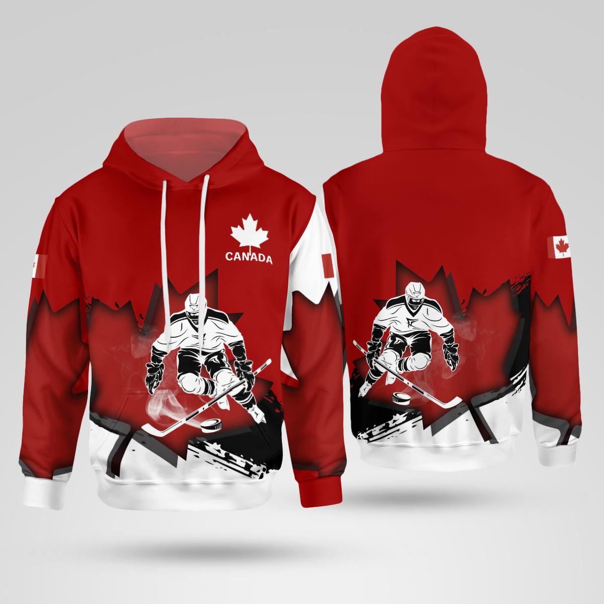 Canada Hockey Maple Leaf Special Shirt 3D