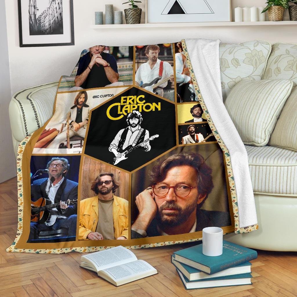 Eric Clapton Albums Fleece Blanket