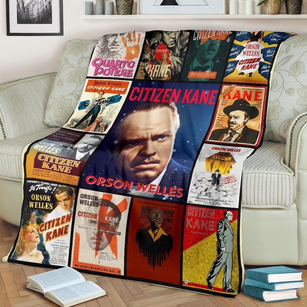 Citizen Kane Inspired Fleece Blanket