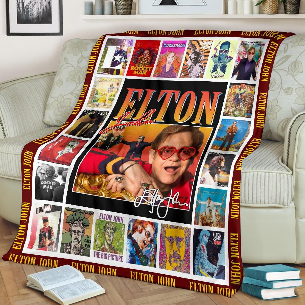 Elton John Signature Fleece Blanket