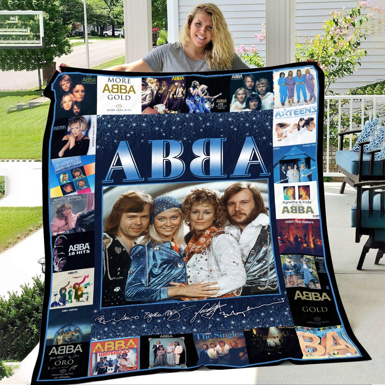 ABBA Inspired Fleece Blanket