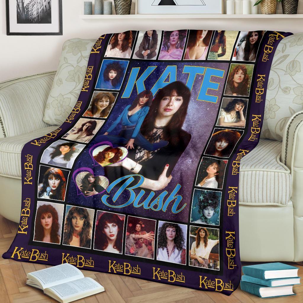 Kate Bush Inspired Fleece Blanket