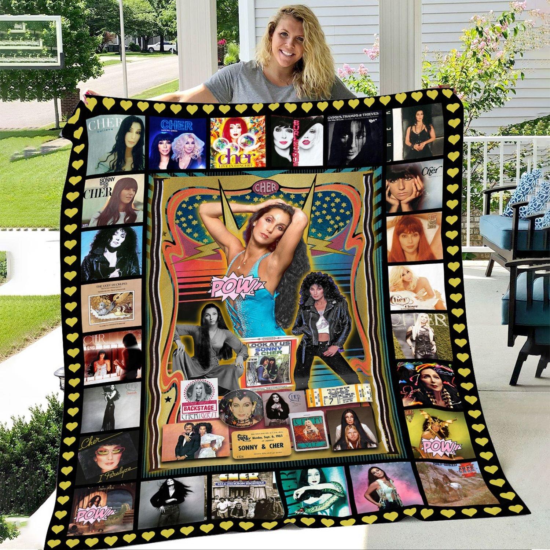Cher Ultra Soft Fleece Blanket