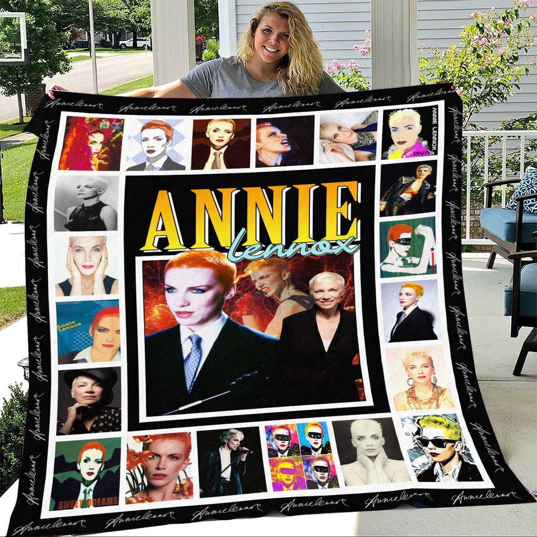 Annie Lennox Albums Fleece Blanket