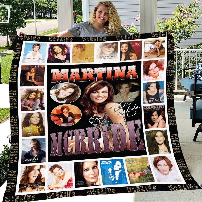 Martina McBride Signature Fleece Blanket