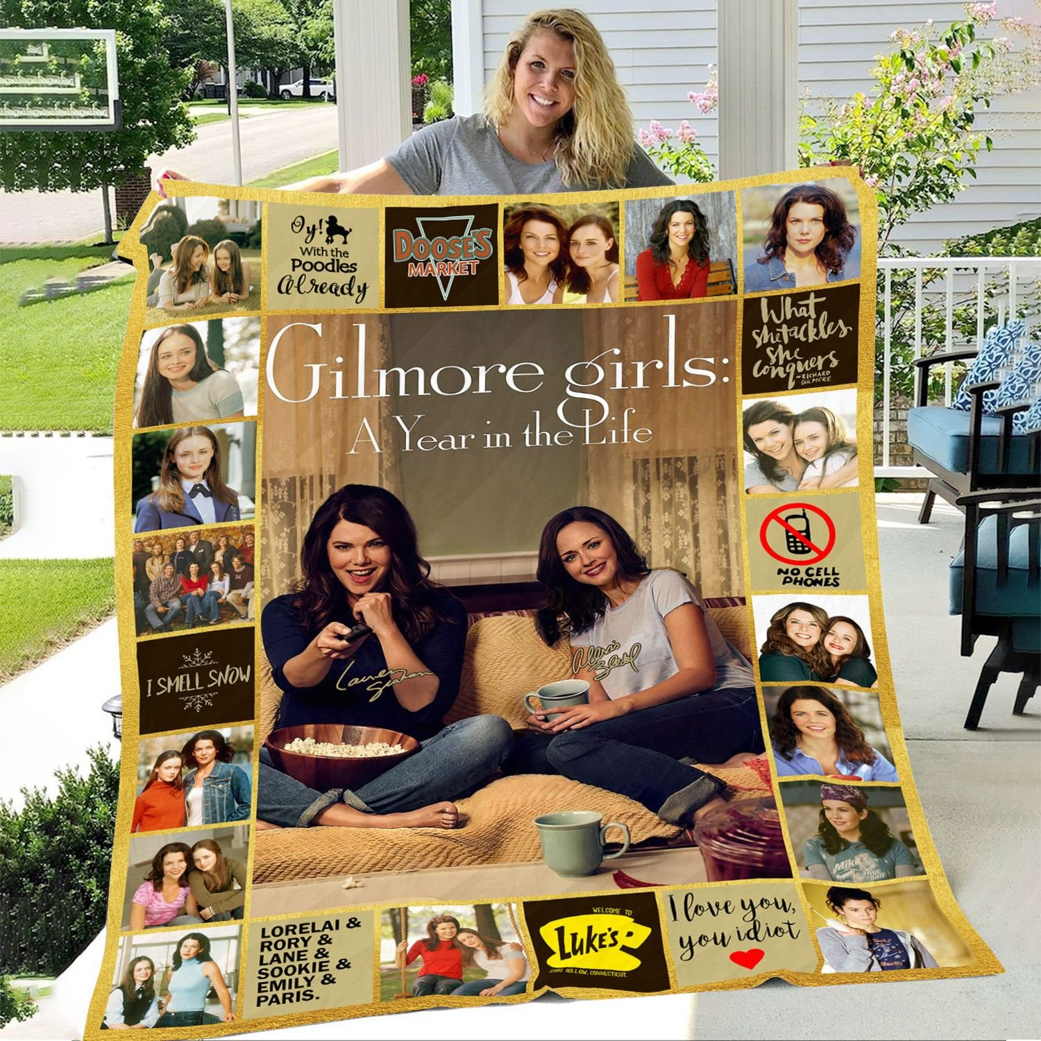 Gilmore Girls A Year In The Life Fleece Blanket