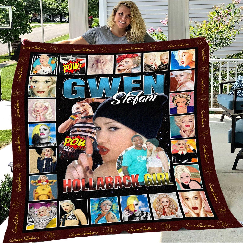 Gwen Stefani Hollaback Girl Blanket