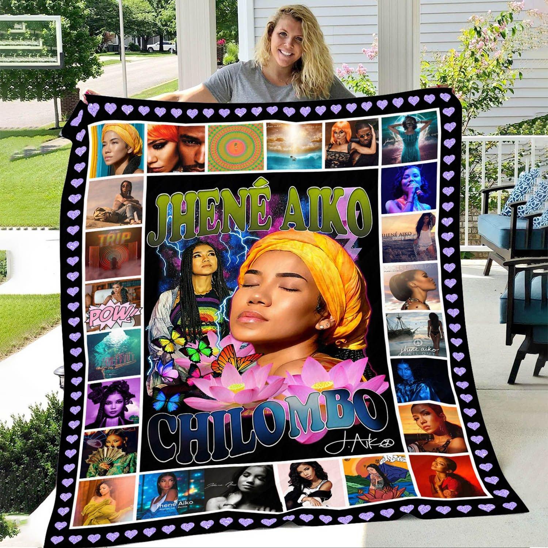 Jhene Aiko Chilombo Fleece Blanket