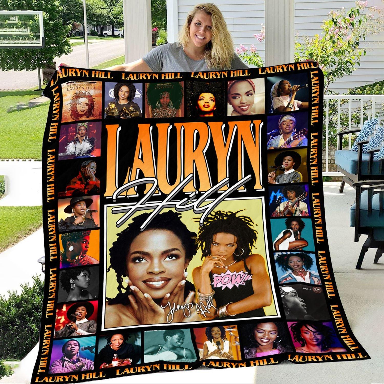 Lauryn Hill Inspired Fleece Blanket