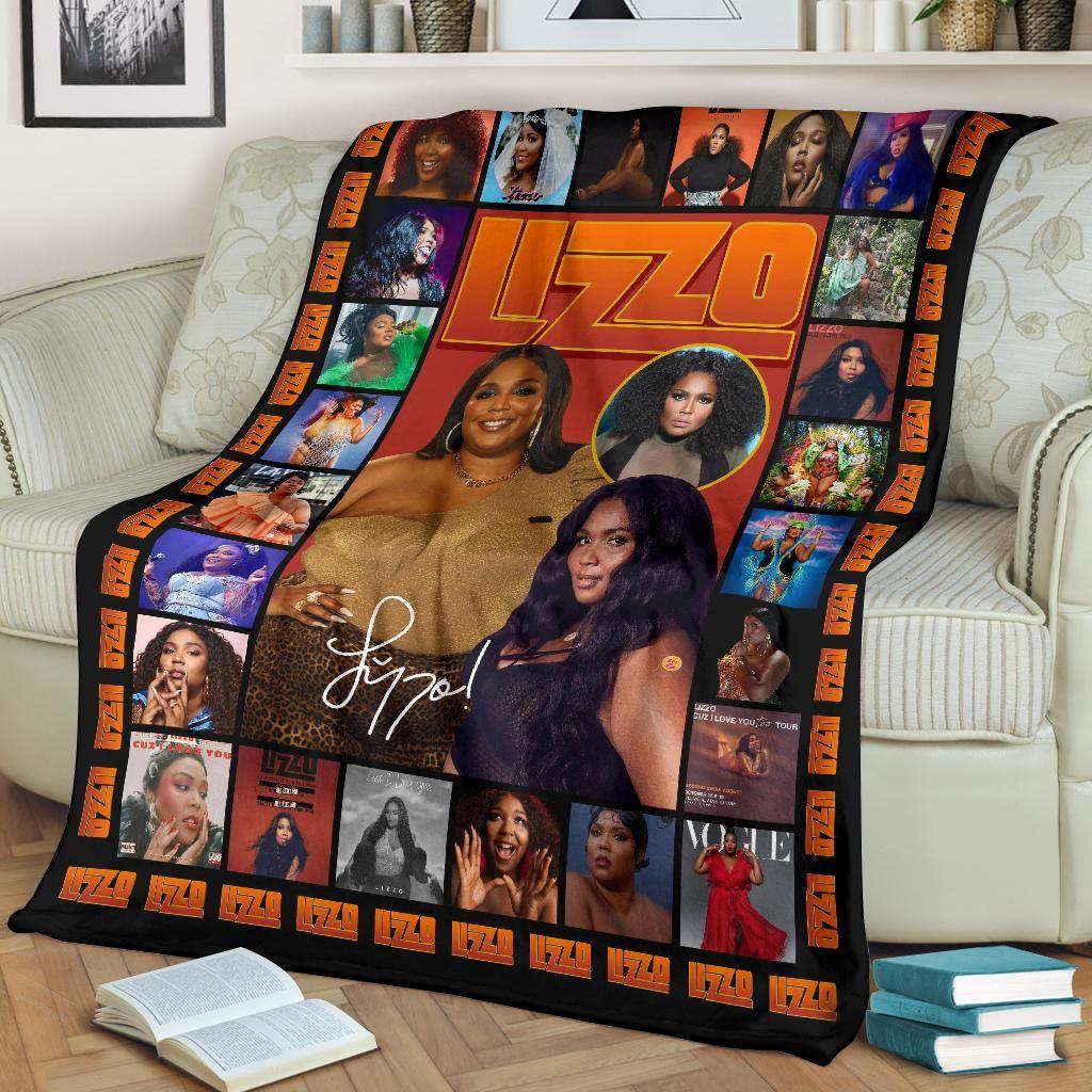 Lizzo Inspired Fleece Blanket