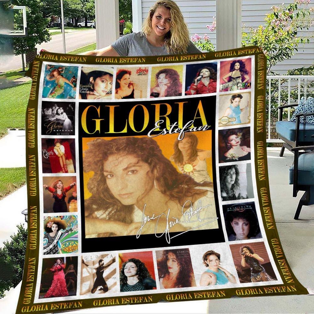 Gloria Estefan Signature Fleece Blanket