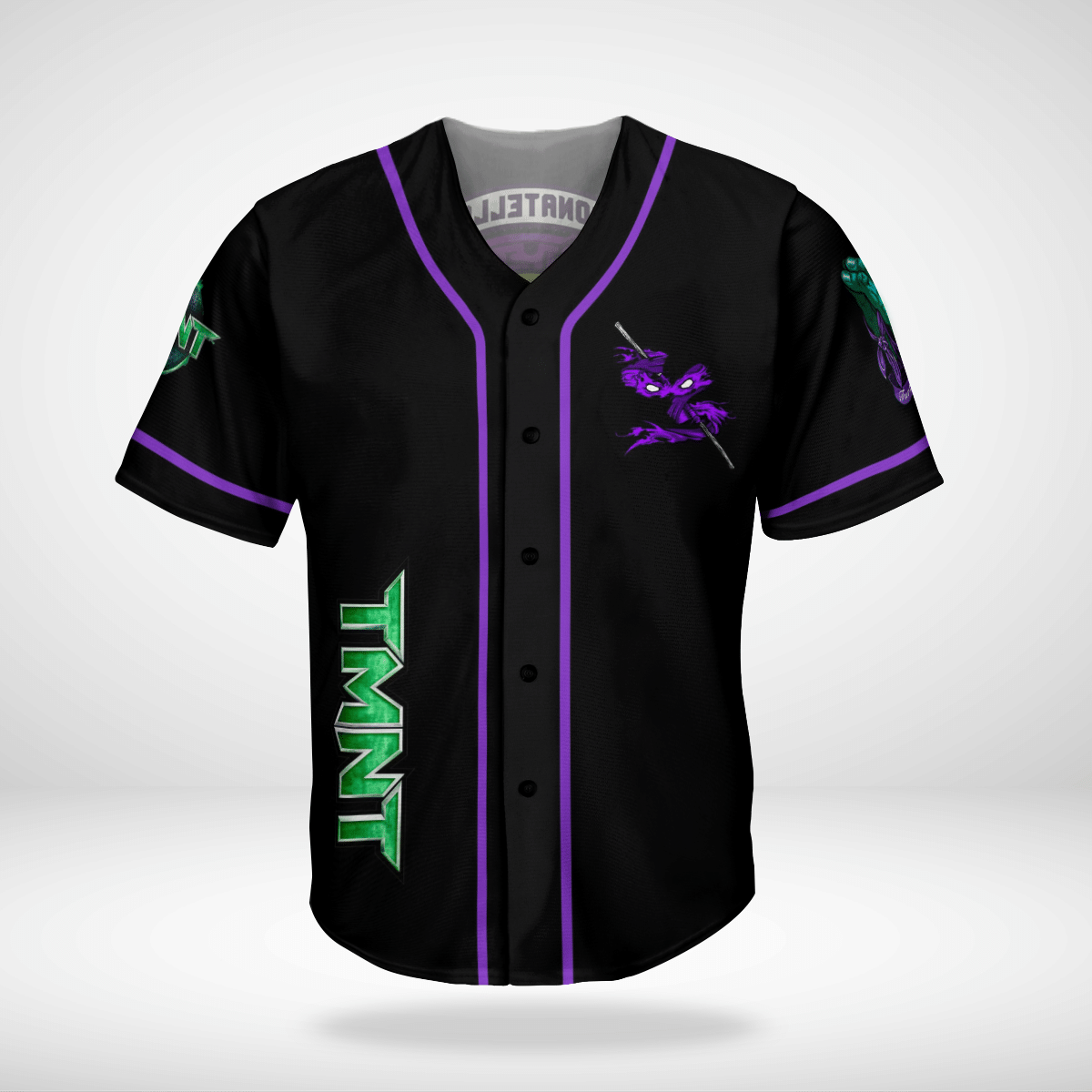 Donatello TMNT Ninja Turtles baseball Jersey shirt