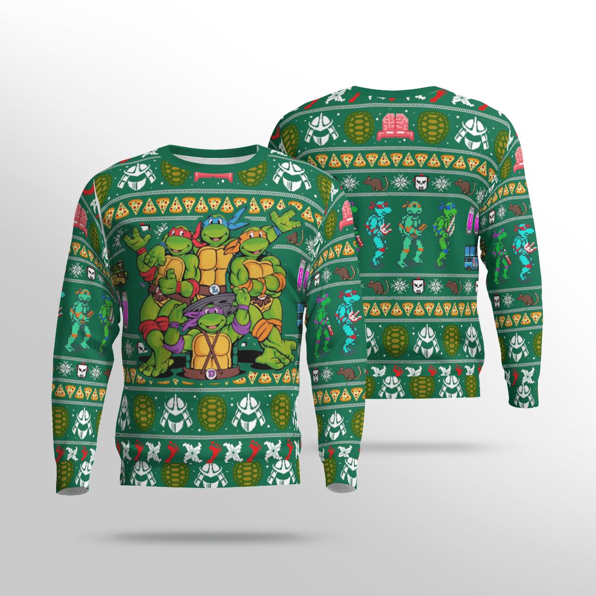Halloween TMNT Ninja Turtles Sweater