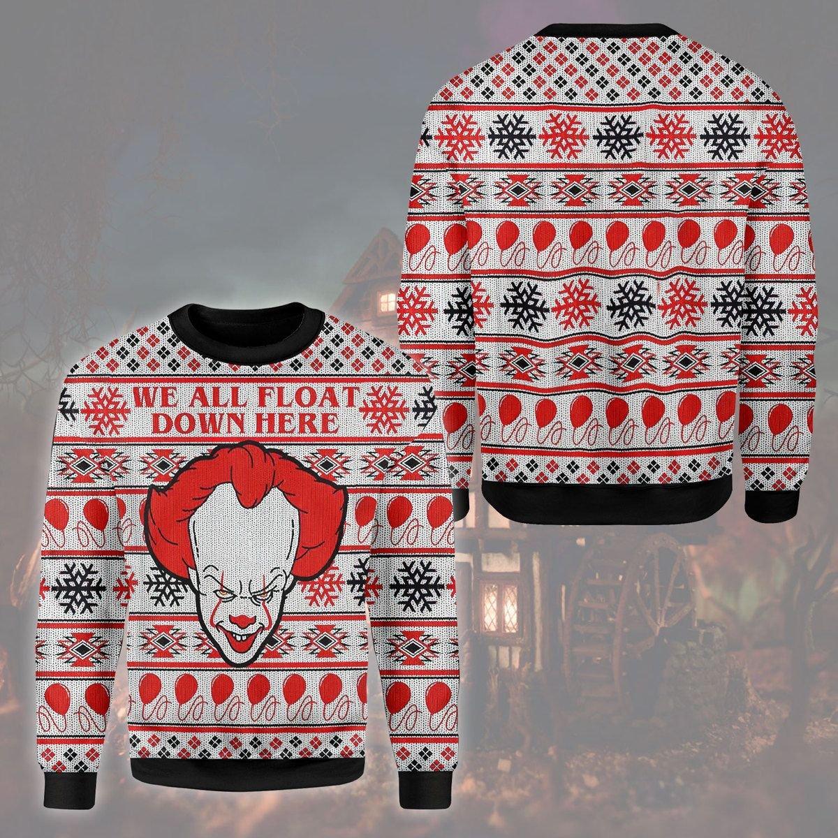 Horror Clown 3D Sweatshirt