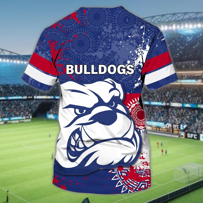 Western Bulldogs Football Club Personalized Name 3D Tshirt