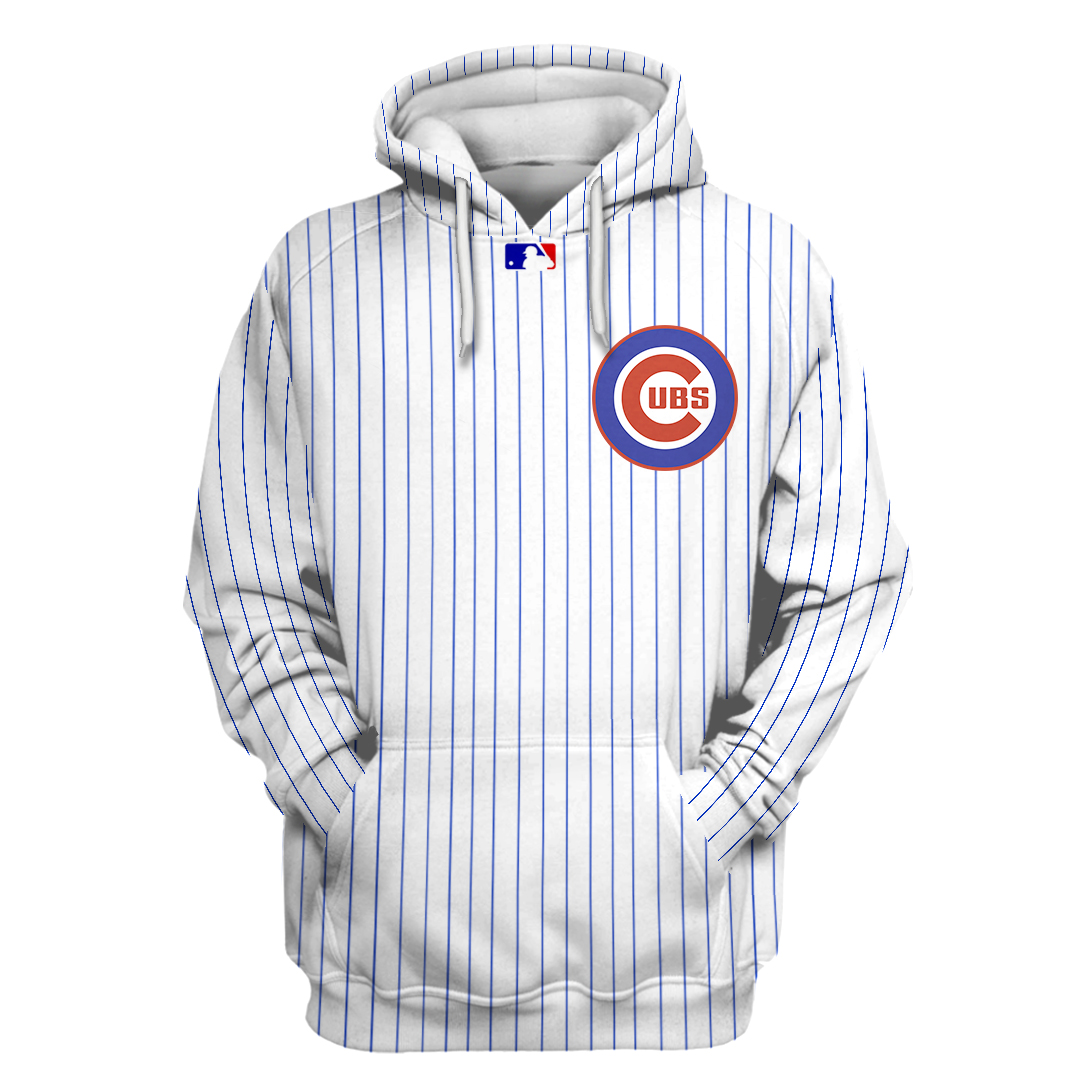 Personalized MLB Chicago CUBS 3D hoodie and sweatshirt