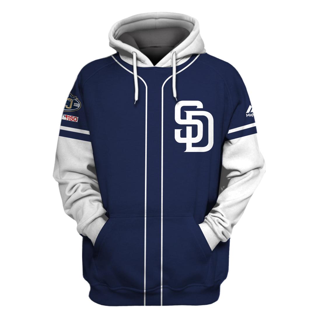 Personalized San Diego Padres 3D hoodie and sweatshirt