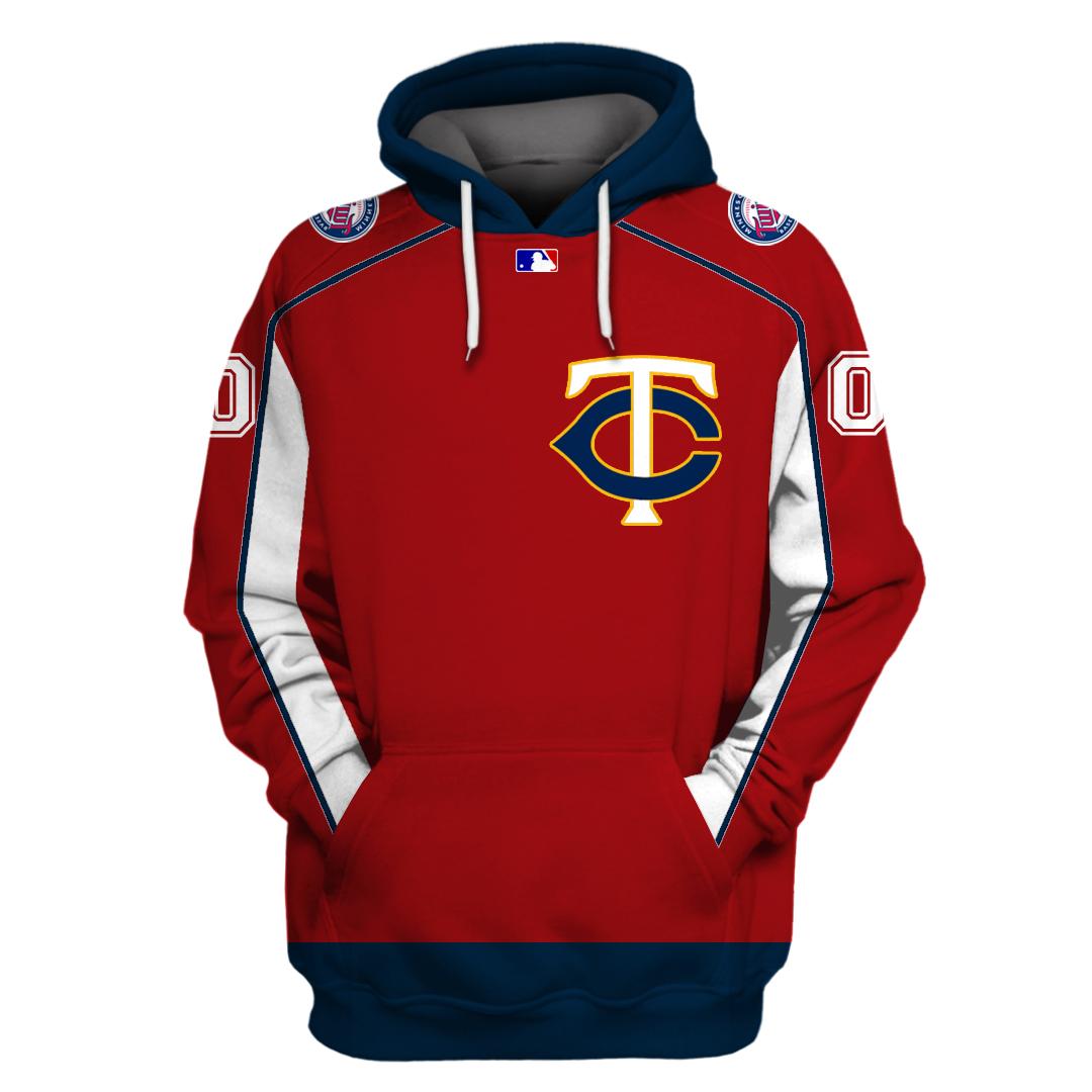 Custom Name Personalized Minnesota Twins hoodie sweatshirt