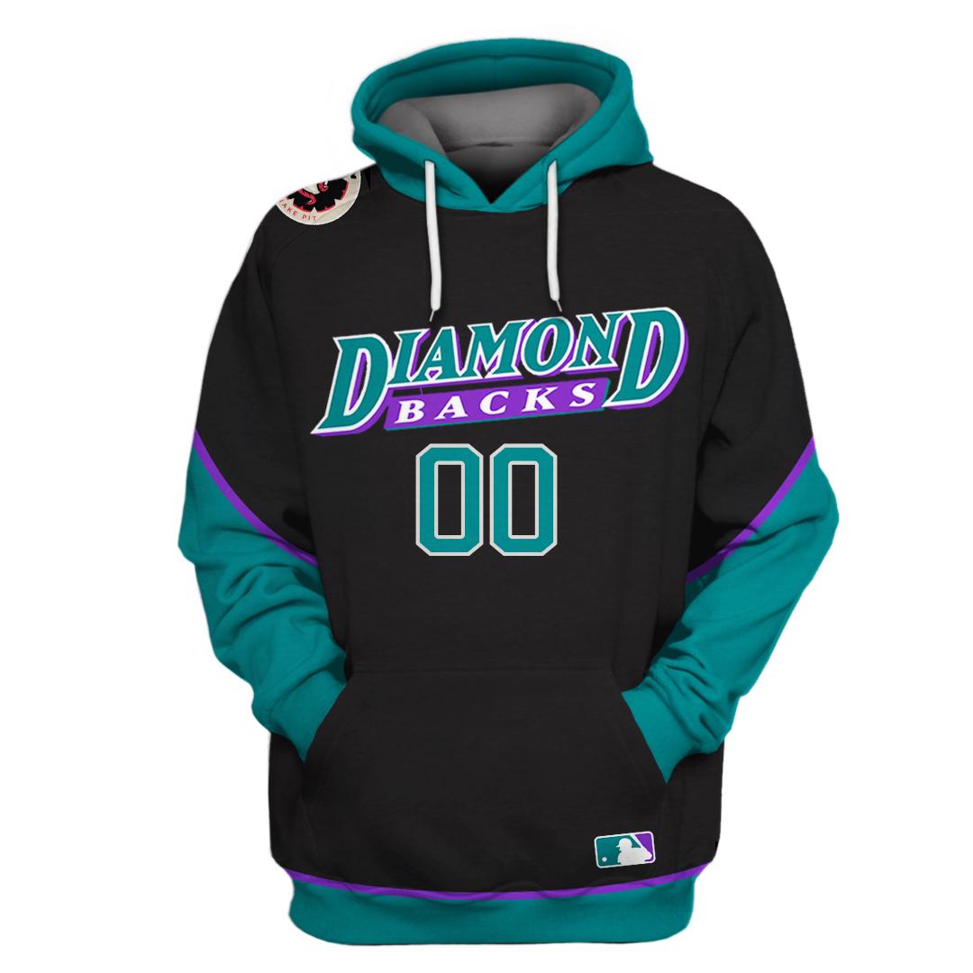 Personalized MLB Arizona Diamondbacks 3D hoodie sweatshirt