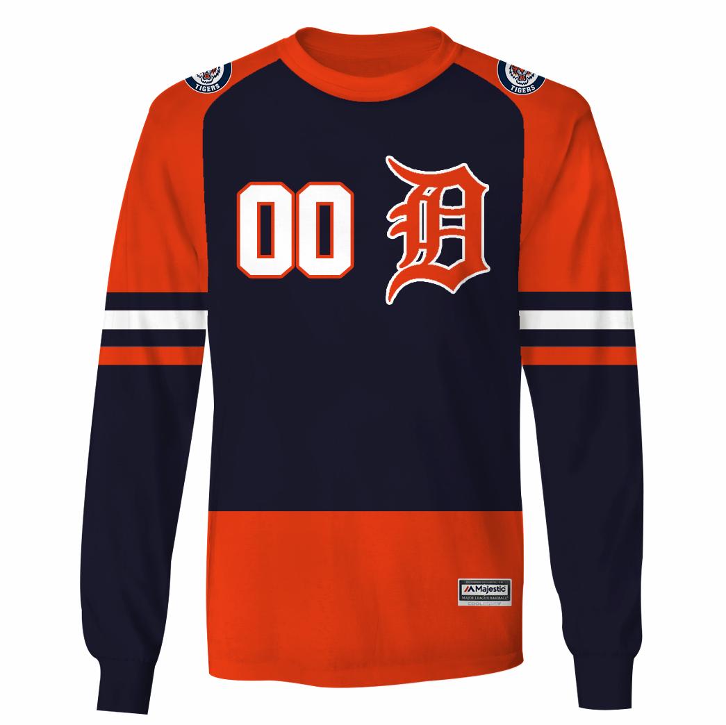 Personalized Detroit Tigers Branded hoodie and sweatshirt