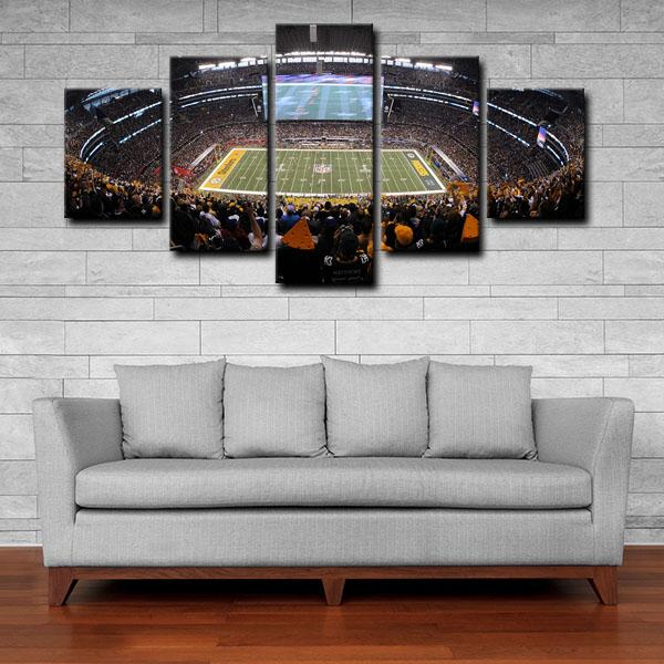 Pittsburgh Steelers Stadium 5 Panel Canvas