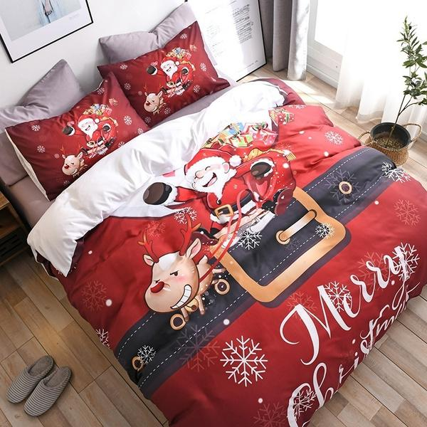 Limited Edition Christmas Themed Duvet Bedding Set
