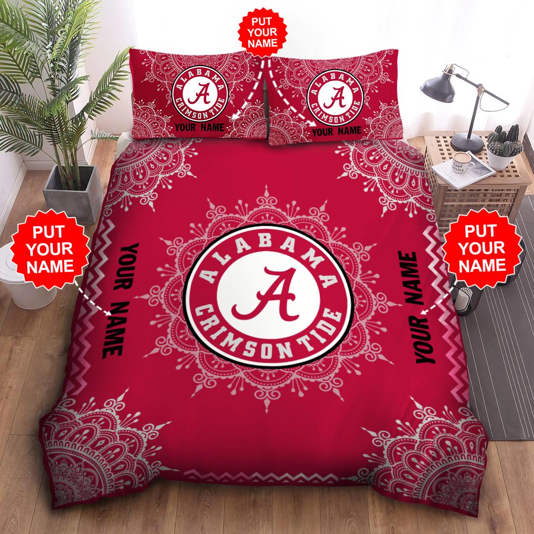 Customized NCAA ALABAMA CRIMSON TIDE Bedding Set