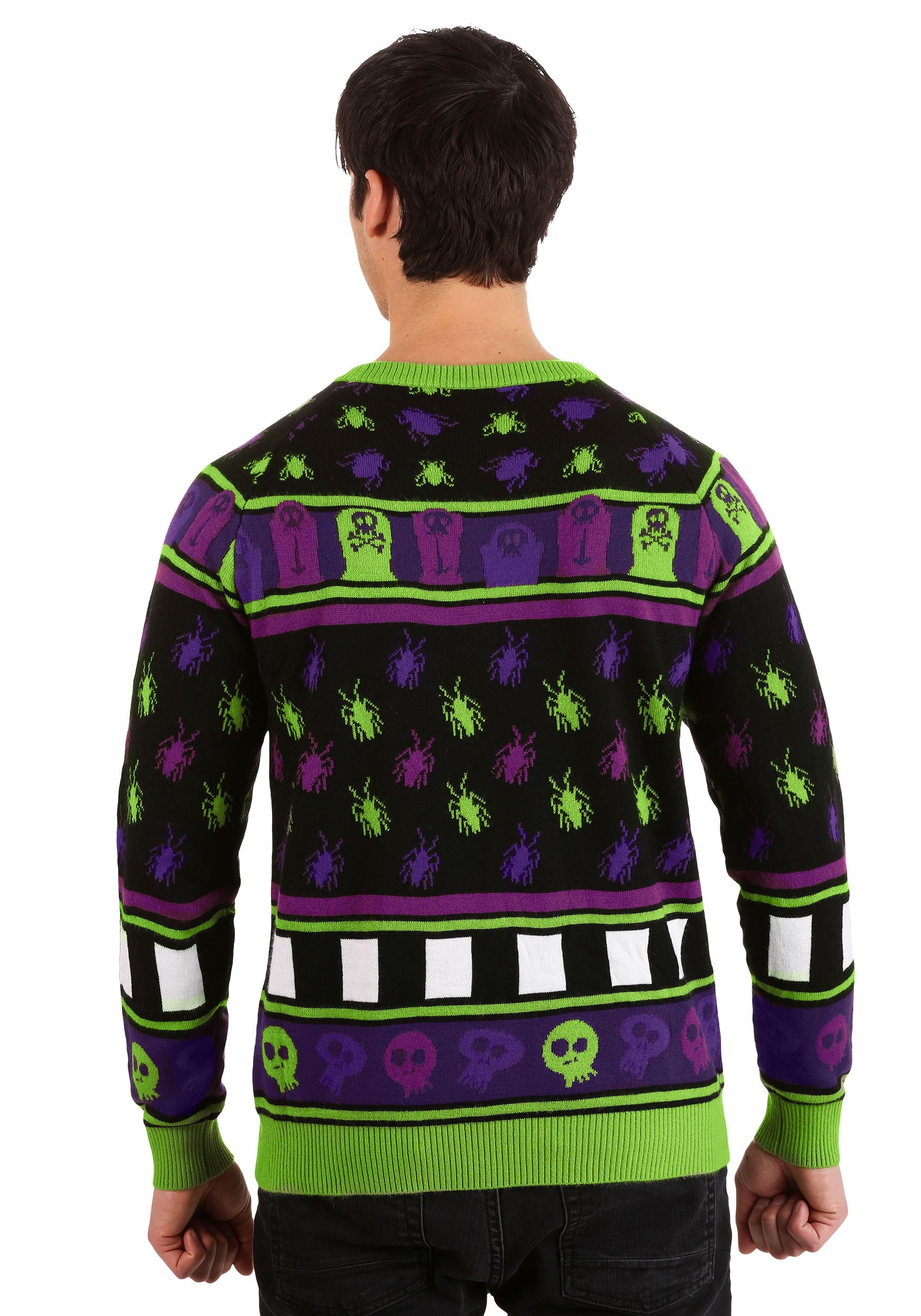Beetlejuice It is Showtime Halloween Sweater