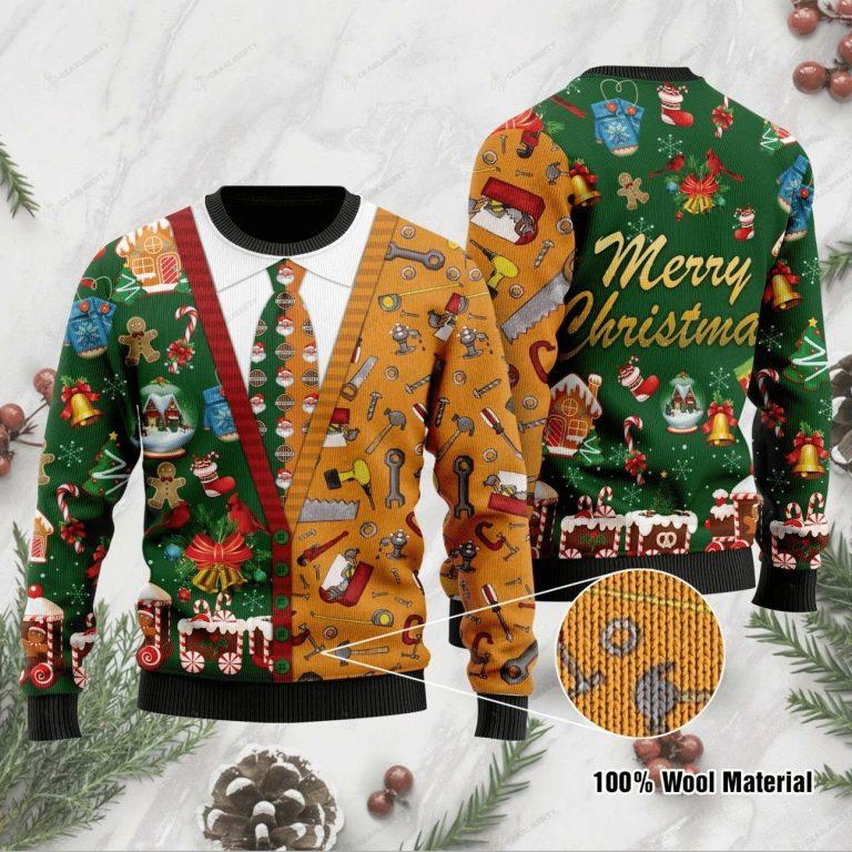 Carpenter Merry Christmas Sweater