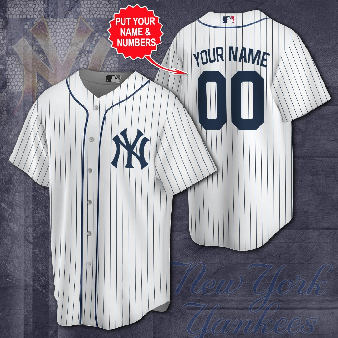 Custom Name New York Yankees classic Baseball Jersey