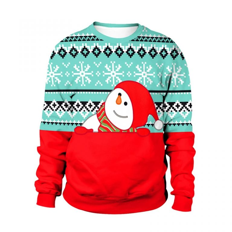 Cute Snowman Christmas sweater