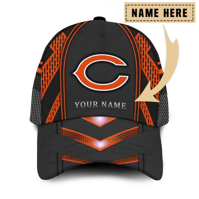 Custom Name NFL CHICAGO BEARS classic Trucker Cap