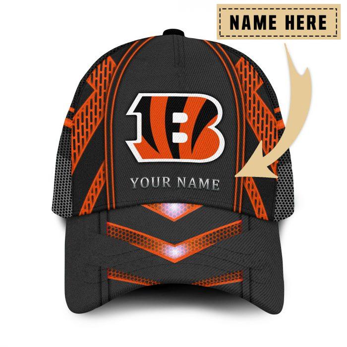 Custom Name NFL CINCINNATI BENGALS classic Trucker Cap